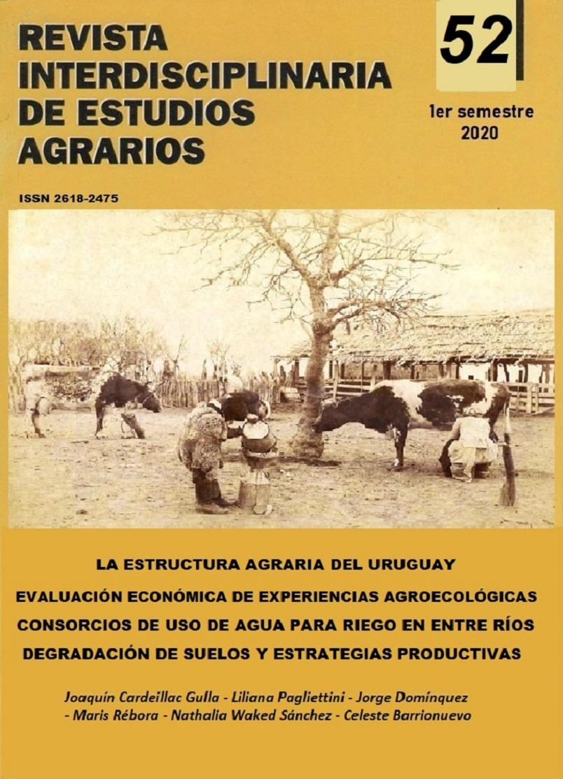 Revista Interdisciplinaria de Estudios Agrarios